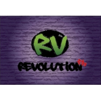 Logo of radio station Revolution FM