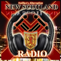 Logo of radio station New Scotland Radio