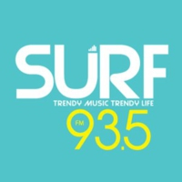 Logo of radio station SURF 93.5