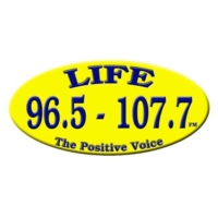 Logo of radio station CJFY Life Radio