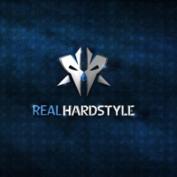 Logo of radio station RHR Real Hardstyle Radio