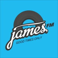 Logo of radio station James FM