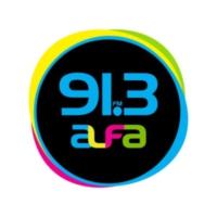 Logo de la radio XHFAJ Alfa 91.3 FM