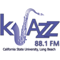 Logo of radio station KJAZZ 88.1 FM
