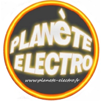 Logo of radio station planete electro