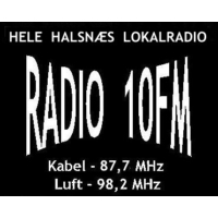 Logo of radio station Radio 10 Frederiksvaerk 98.2 FM