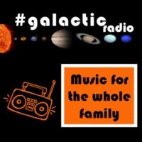 Logo of radio station #galactic radio