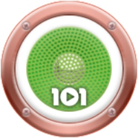 Logo of radio station 101.ru - Italia