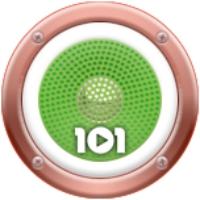 Logo de la radio 101.ru - Italia