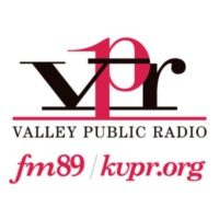 Logo of radio station KVPR FM 89