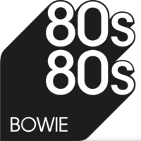 Logo of radio station 80s80s David Bowie
