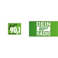 Logo of radio station Radio 90.1 – Dein 80er Radio
