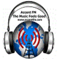 Logo of radio station Accent FM (B)