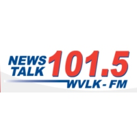 Logo of radio station WVLK 101.5