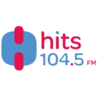 Logo of radio station XHCHA Hits Fm 104.5