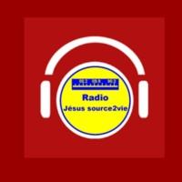 Logo of radio station radio Jésus source2vie