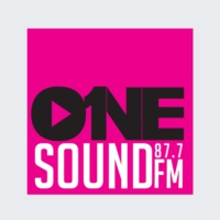 Logo of radio station ONE Sound FM