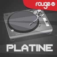 Logo of radio station Rouge Platine