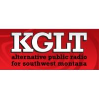Logo of radio station KGLT