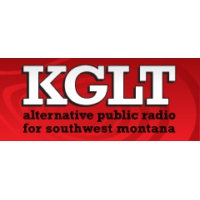 Logo of radio station KGLT