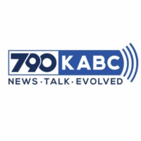 Logo of radio station KABC-AM 790