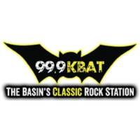 Logo of radio station KBAT 99.9 FM