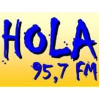 Logo de la radio Hola FM