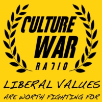 Logo of radio station Culture War Radio