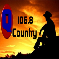 Logo of radio station Q106.8 Country