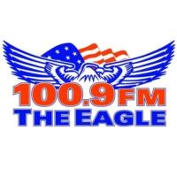 Logo of radio station KXGL The Eagle 100.9 FM
