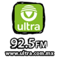 Logo of radio station Ultra Radio Puebla