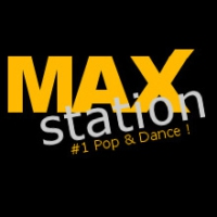 Logo of radio station MAXstation