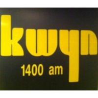 Logo of radio station KWYN AM 1400