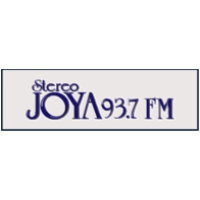 Logo of radio station XEJP Joya 93.7 FM