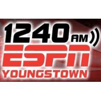 Logo of radio station WBBW 1240 ESPN Youngstown