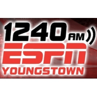 Logo of radio station WBBW 1240 ESPN Youngstown