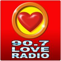 Logo de la radio 90.7 Love Radio