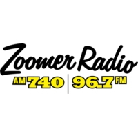 Logo of radio station CFZM Zoomer Radio