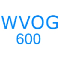 Logo of radio station WVOG 600