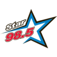 Logo of radio station KLLP Star 98.5