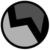 Logo of radio station LV radio