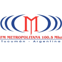 Logo of radio station FM Metropolitana 100.5