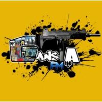 Logo of radio station Gansta FM