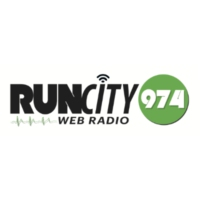 Logo of radio station RunCity97.4
