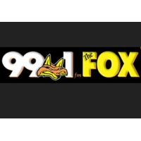 Logo of radio station KXFM The Fox 99.1