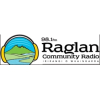 Logo of radio station Raglan Radio