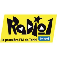 Logo of radio station Radio 1 Tahiti
