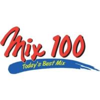 Logo of radio station KIMN Mix 100.3