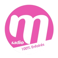 Logo of radio station M RADIO 100% ENFOIRES