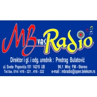 Logo of radio station MB vas Radio